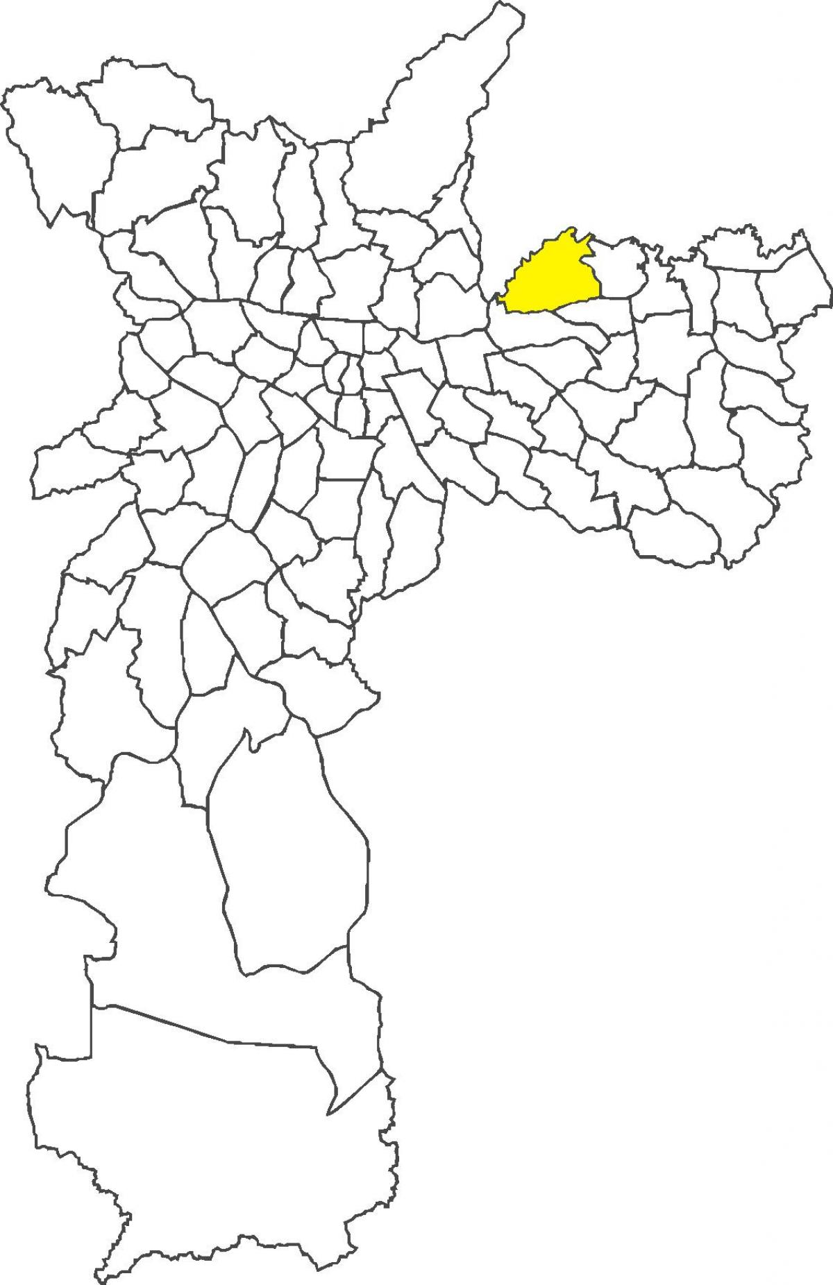Harta Cangaíba district