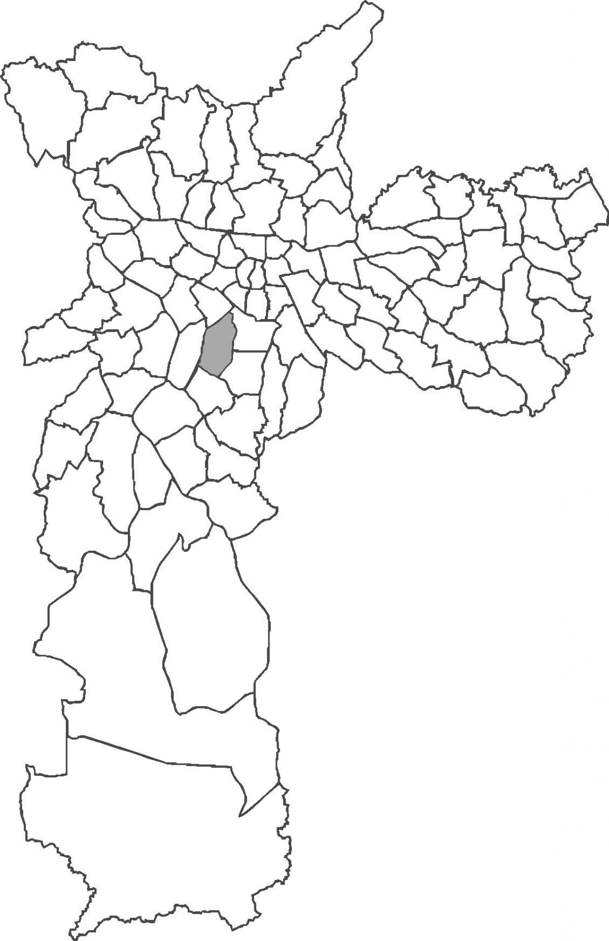 Harta Moema district