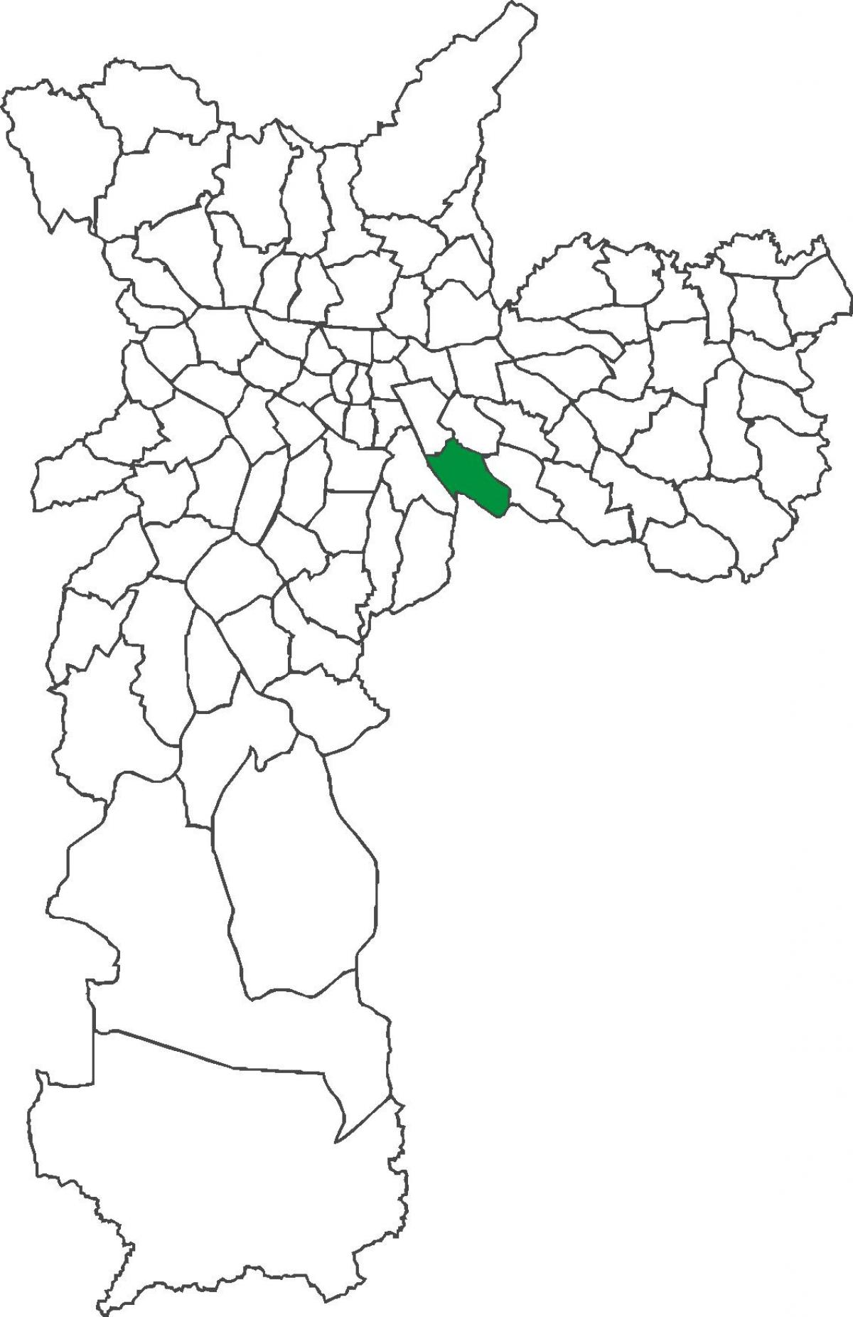 Harta Vila Prudente district