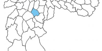 Harta Campo Belo district