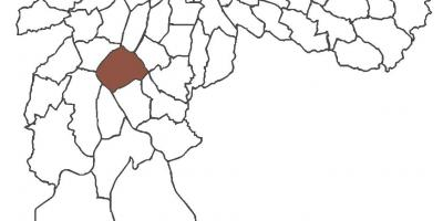 Harta Santo Amaro district