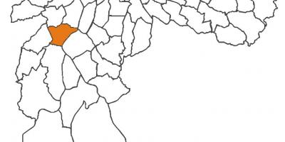 Harta Vila Andrade district