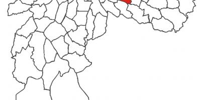 Harta Vila Formosa district